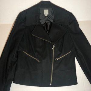 Halogen wool Moto jacket